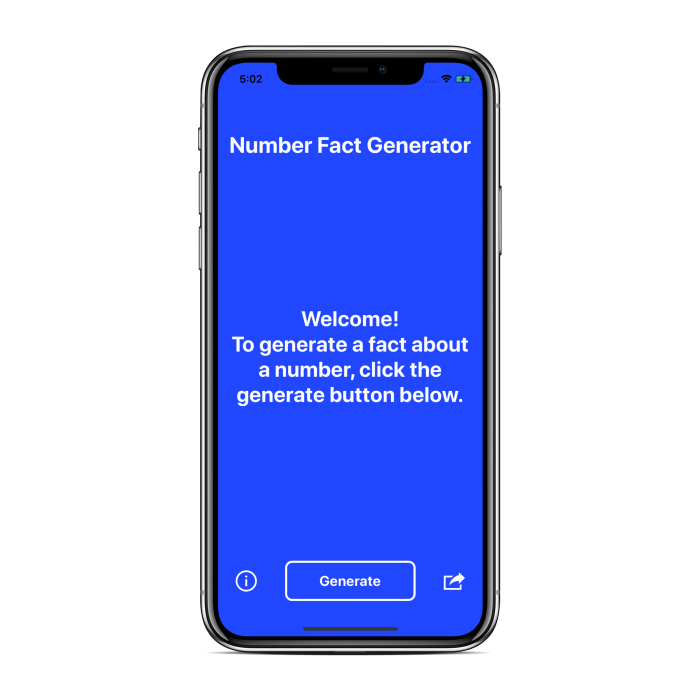 Number Facts Generator 15