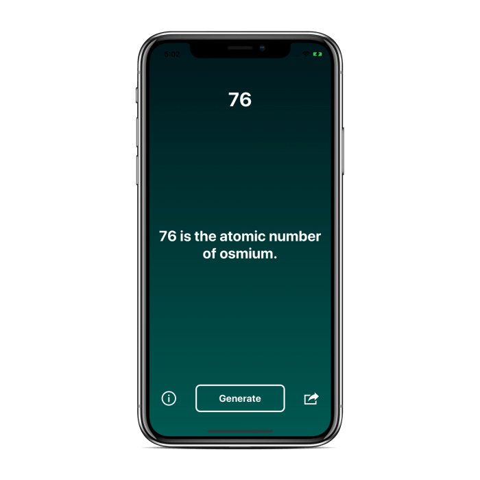Number Facts Generator 14