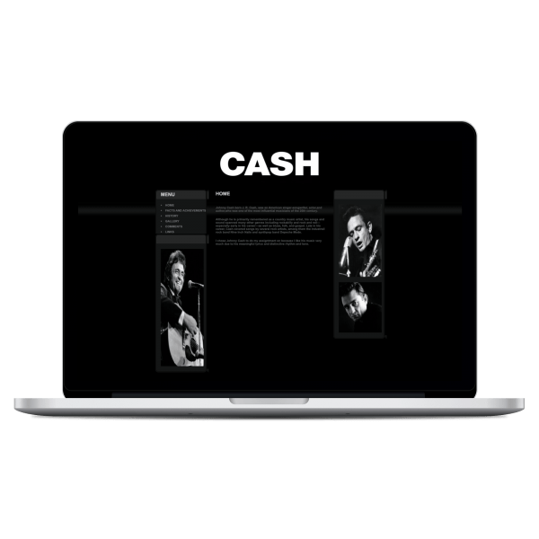 Johnny Cash Site 1