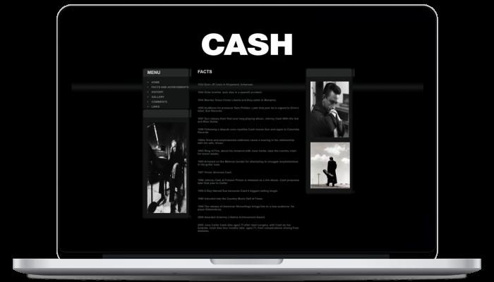 Johnny Cash Site 3
