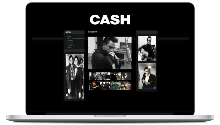 Johnny Cash Site 2